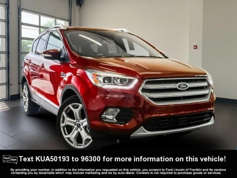 2019 Ford Escape for Sale | Ford Lincoln of Franklin